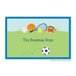 Plate-Sports Boy