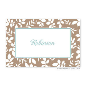 Laminated Placemat - Silo Leaves
