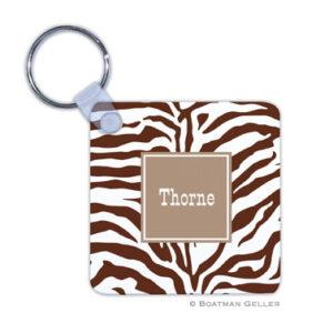 Keychain - Zebra