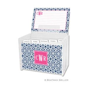 Recipe Box - Cameron