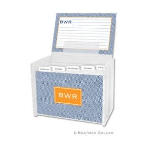 Recipe Box - Greek Key